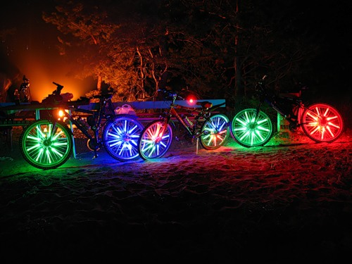 Подсветка для велосипеда своими руками